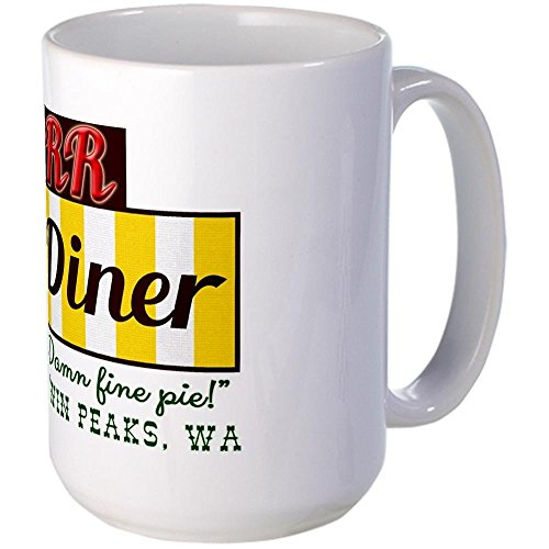 11 ounce Double RR Diner in Twin Peaks Large Mug 12.95