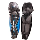 Bauer Senior Performance Street Hockey Shin Guard (Pair), Black, 15-Inch