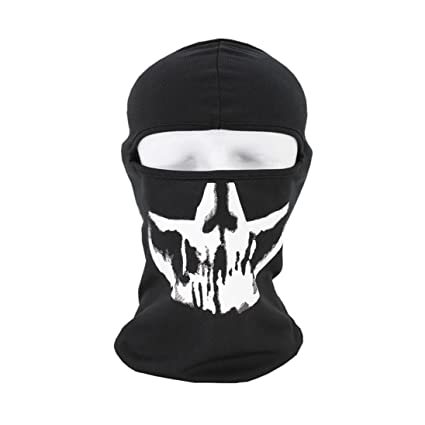 e65f0d204f0 Skull Cycling Face Mask - Breathable Windproof Tube Face Mask Half Face for  Outdoor Riding (