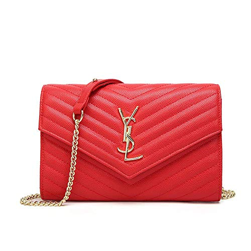 - Luxury Handbags Quilted purse Clutch Bags for Women Crossbody Bag with Chain Small Leather purse