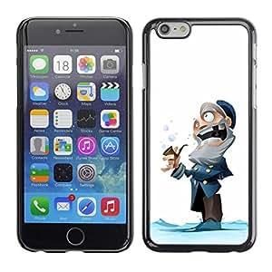 """For Apple (5.5 inches!!!) iPhone 6+ Plus / 6S+ Plus , Capitán viejo hombre de invierno de dibujos animados Niños"""" - Diseño Patrón Teléfono Caso Cubierta Case Bumper Duro Protección Case Cover Funda"""