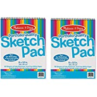 Melissa & Doug Sketch Pad (9 x 12 inches) - 50 Sheets,...