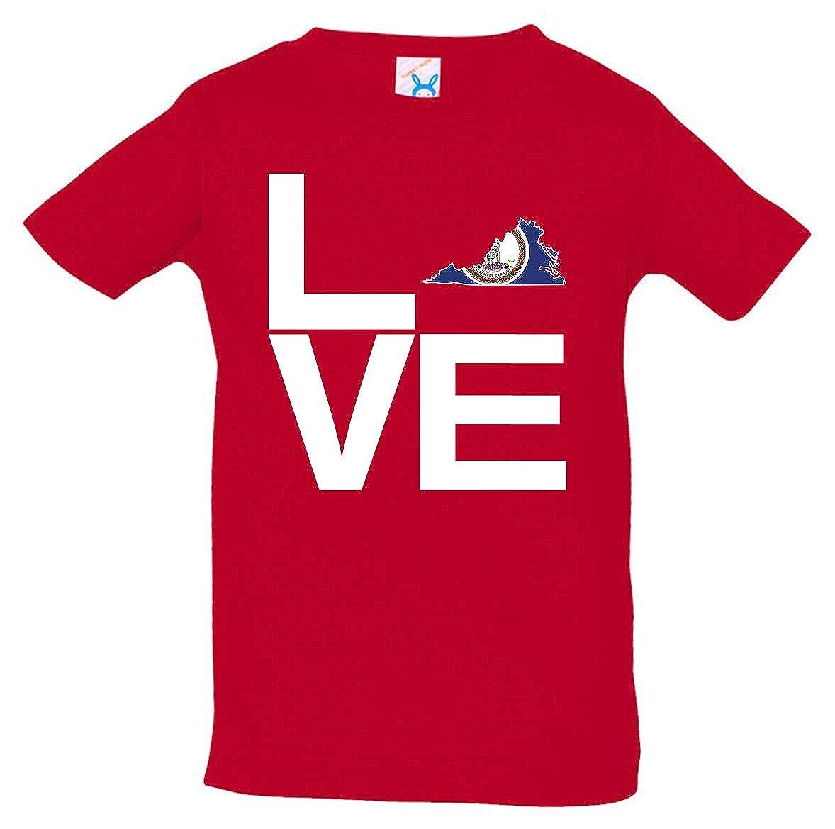 Tenacitee Babys Love Virginia Shirt