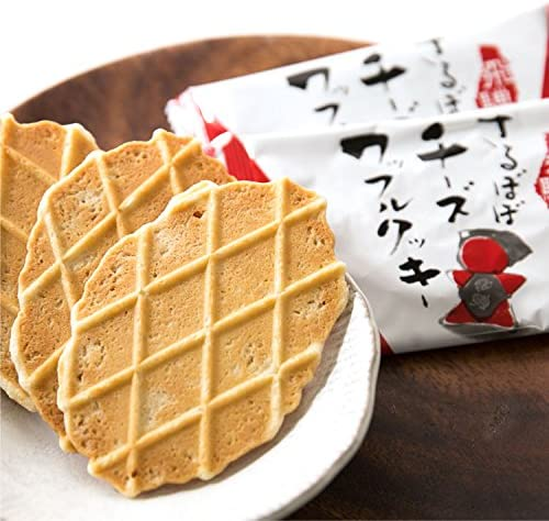 飛騨 さるぼぼチーズワッフルクッキー(20枚)//