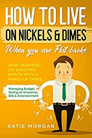 How to live on Nickels & Dimes when you are Flat broke: How I Survived on $450 Per Month with a Family of