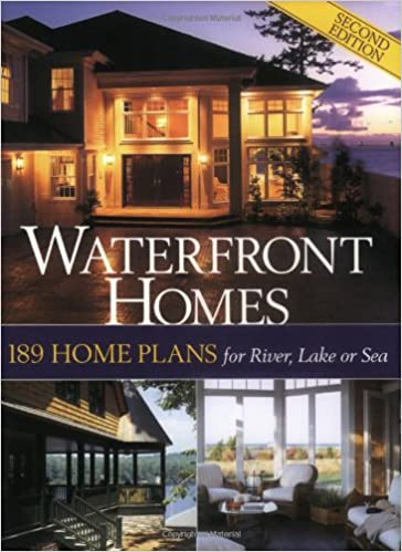 Waterfront Homes: 189 Home Plans for River, Lake or Sea: Hanley Wood on ranch homes house plans, waterfront house plans on pilings, lake homes house plans, waterfront beach house plans, patio homes house plans, garden homes house plans, mediterranean waterfront house plans, coastal homes house plans, green homes house plans, retirement homes house plans, view homes house plans, homes on stilts house plans, log homes house plans, barn homes house plans, narrow lot waterfront house plans,