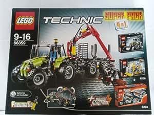LEGO 66359 Technic - Paquete especial 4 en 1 (8049, 8260, 8259 y motor 8293)