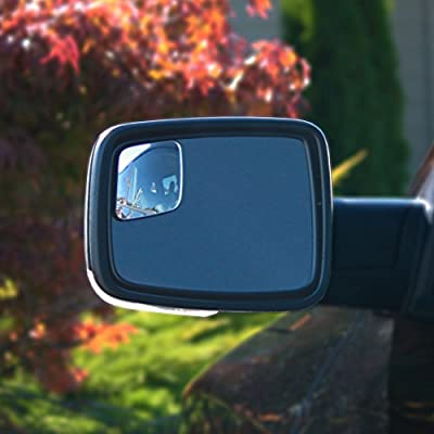 WadeStar RM10 Blind Spot Mirrors for 2009-2020 Ram Trucks with Non-Towing Mirrors: Automotive