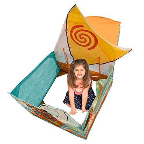 Playhut Disney Moana Wayfinder Canoe Playhouse