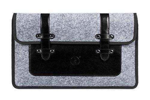 Cheap Cases Galaxy View 18.4 Case, FYY 100% Handmade Premium Leather & Durable Felt..