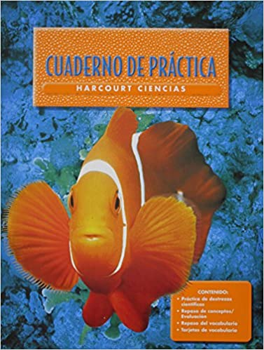 Descargar google ebooks gratis Harcourt School Publishers Ciencias: Student Edition Workbook Spanish Grade 1 (Harcourt Ciencias) PDF