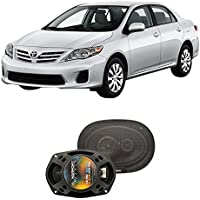 Fits Toyota Corolla 2009-2013 Rear Deck Factory Replacement Harmony HA-R69 Speakers New
