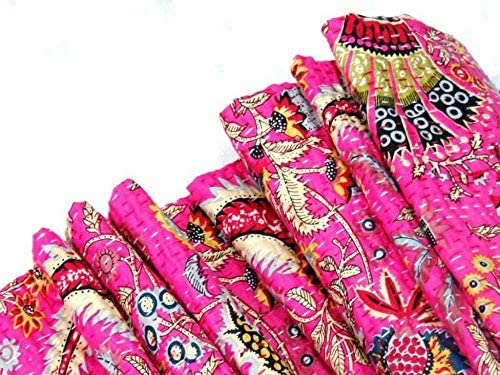 Imperial Art ギャラリー インディアン スロー ベッドカバー ベッドスプレッド カンタキルト キングサイズ カンタキルト スカイブルー カンタブランケット ベッドカバー キングカンタ ベッドスプレッド ボヘミアン 寝具 カンタ インチ IAG-353