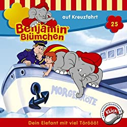 Benjamin auf Kreuzfahrt (Benjamin Blümchen 25)