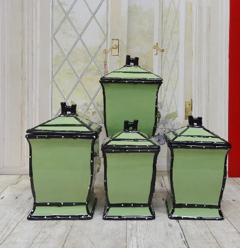 Apple Canister Sets - 5