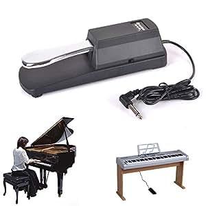 damper sustain pedal for yamaha casio roland korg m audio gear4music keyboards. Black Bedroom Furniture Sets. Home Design Ideas
