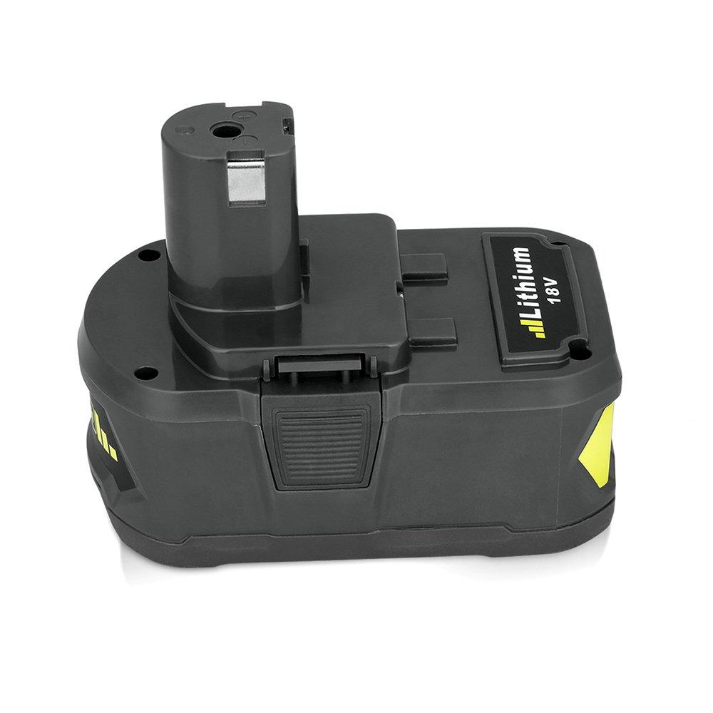 2 X Remplacement de Batterie Pour Ryobi 18V one + P108 P107 P104 P105 P102 P103