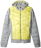 Obermeyer Girls Sasha Hybrid Insulator Jacket, Large, Daffodil