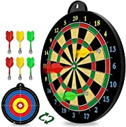 Magnetic Dart Board - 6pcs Magnetic Dart - Excellent Indoor Game and Party Games - Magnetic Dart Board Toys fo