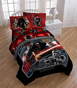 Amazon Com Star Wars Episode 7 Twin Comforter And Sheet