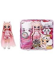 Na Na Na Surprise Teens Slumber Party Fashion pop MILA ROSE - Speelgoed voor kinderen, verzamelbaar - 27cm katoenen pop, Perzische Kitty, geïnspireerd met roze haar