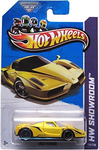 Hotwheels Diecast Car Hot Wheels - Enzo Ferrari (HW Showroom - Ferarri Yellow