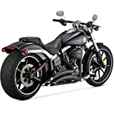 Vance & Hines Big Radius 2 into 2 Exhaust Black 46065