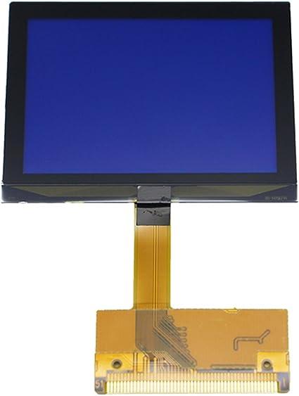 Gazechimp Pantalla de Indicador de Velocímetro Reparación LCD para 99-05 Audi A6 TT 8N Series: Amazon.es: Coche y moto