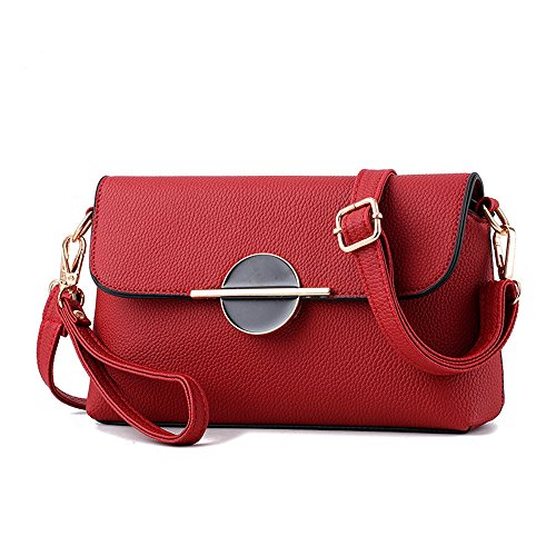Wine rosa tracolla Bordeaux Borsa donna a AILEESE cRg6Ow