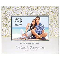 Enesco This is The Day by Gregg Gift for Enesco Frame (Our Honeymoon), 7.68\
