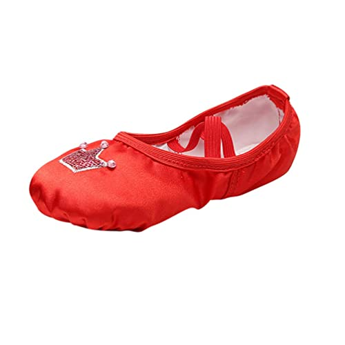 YAANCUNN Zapatillas de Ballet Punta Split Plana Zapatos de Ballet para Niños y Adultos: Amazon.es: Zapatos y complementos