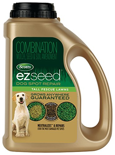Scotts EZ Seed Dog Spot Repair Tall Fescue Lawns - 2 lb., Combination Mulch, Seed and Soil Amendment Includes Protectant and Tackifier, Neutralizes and Repairs up to 100 Dog Spots