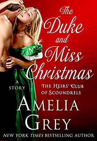 book cover of The Duke and Miss Christmas