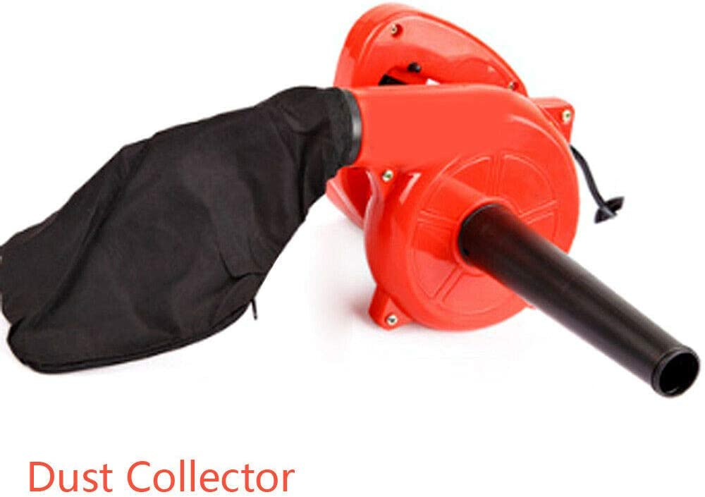 Soplador de hojas el/éctrico limpiador de polvo soplador de hojas Berkalash aspirador de jard/ín 700 W lavable