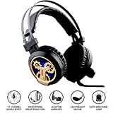 Stereo Gaming Headset for PS4, 7.1 Channel Surround Sound USB Gaming Headset with LED Lighting, Microphone, and Noise-Reduction for Phone iPad PC Computer,kairong Review