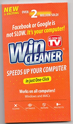 CLEANER SEEN SPEEDS YOUR COMPUTER product image