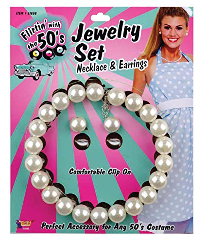 Forum Novelties Morris Costumes Pearl Necklace and -