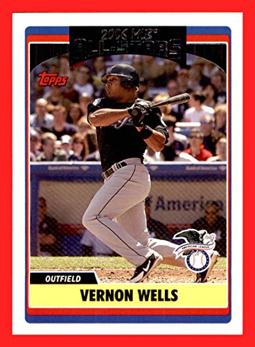 2006 Topps Update #224 Vernon Wells TORONTO BLUE JAYS
