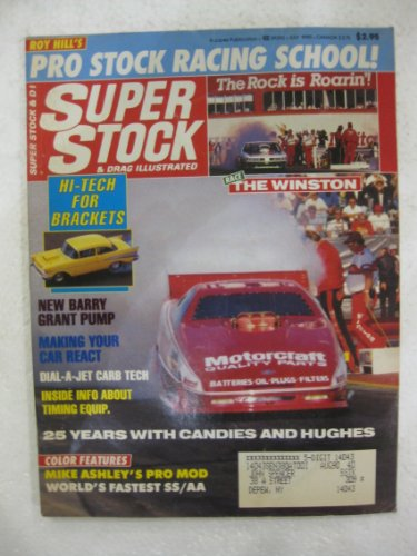 Super Stock and Drag Illustrated July 1990 (Stock Super Drag Car)