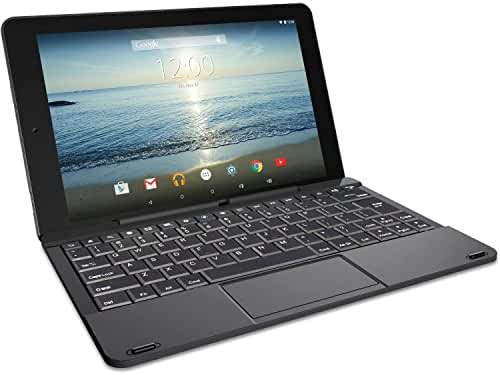 RCA RCT6303W87DK 10 Viking Pro Black Tablet 2-in-1 Android 5.0 32GB Quad Core