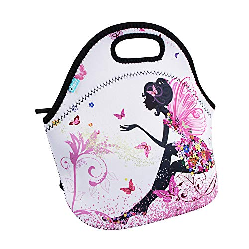 Lunch Boxes, OFEILY Lunch Tote Lunch bags with Neoprene Angle girl