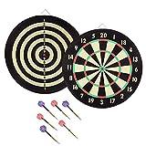 Trademark Global 15-2004 Game Room Dartboard Set with 6 Darts