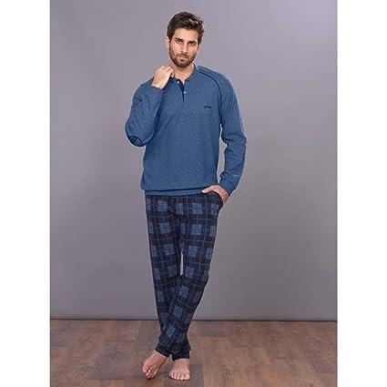 Pijama de hombre de invierno de forro polar Jeans 46