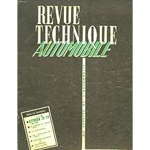Revue technique automobile n°156 : Citröen ID 19, le problème du freinage, la consommation