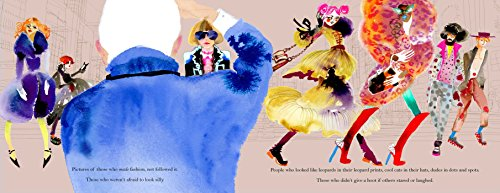Polka Dot Parade: A Book About Bill Cunningham by little bee books (Image #7)
