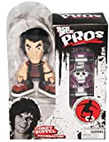 Tech Deck Pros - Finger Skateboard 3-1/2 Inch Tall Skater Action Figure Set - COREY DUFFEL 'Foundation' with Fingerboard - Spin Master