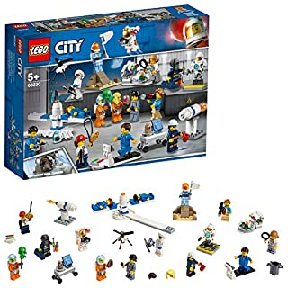 LEGO 60230 City People Pack - Space Research and Development Minifigures Set, City Space Port Crew
