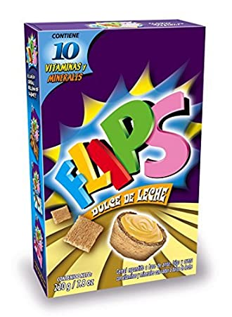 FLIPS Dulce De Leche Cereal, 7.8 Ounce (Pack of 12) by FLIPS
