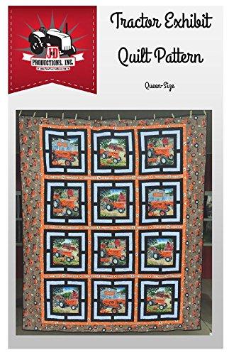 Tractor Exhibit Quilt Pattern, Allis Chalmers