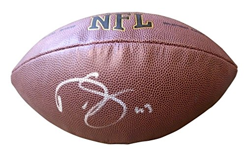 Philadelphia Eagles Darren Sproles Autographed Hand Signed NFL Wilson Football with Proof Photo of Signing, New Orleans Saints, San Diego Chargers, Kansas State Wildcats, COA ()
